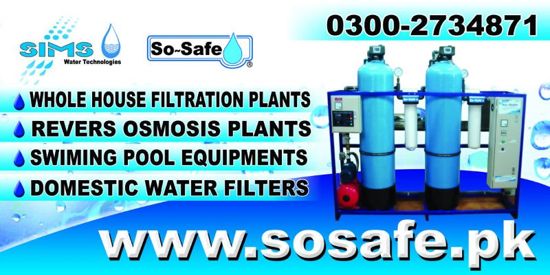so safe automatic whole house and community water purification plant