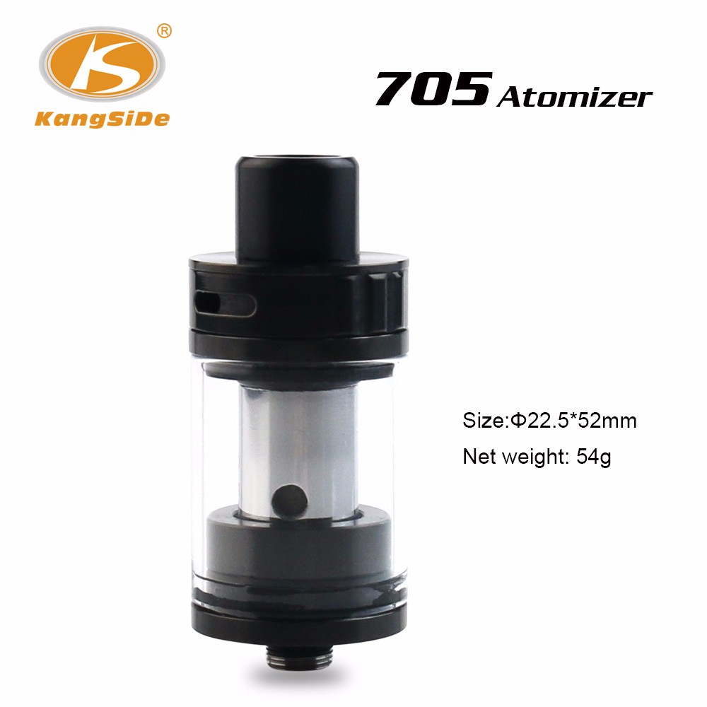 Hot Selling in US market ! Dual Vertical 0.25ohm or 0.5ohm coil atomizer,705 Tank