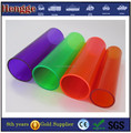 small diameter transparent plastic pipes acrylic tube with SGS certificate
