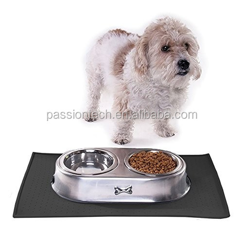 Passiontech Pet Feeding Mats for Dog and Cat In Premium