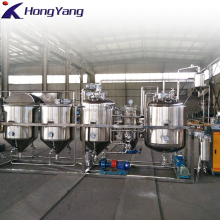 modular refinery / crude oil refinery equipment / coconut oil refinery machine