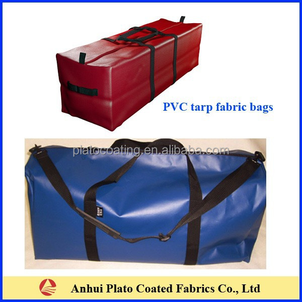 pvc waterproof fishing tackle bag