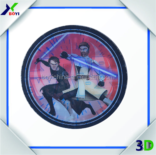 Chinese manufacturer Customized 3D PP Lenticular Sticker