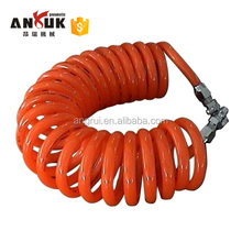 High quality colorful Spring PU tube spiral air hose