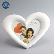 Home Decorations plastic mini photo frame Love shape open hot sexy girl photo or photo picture frame