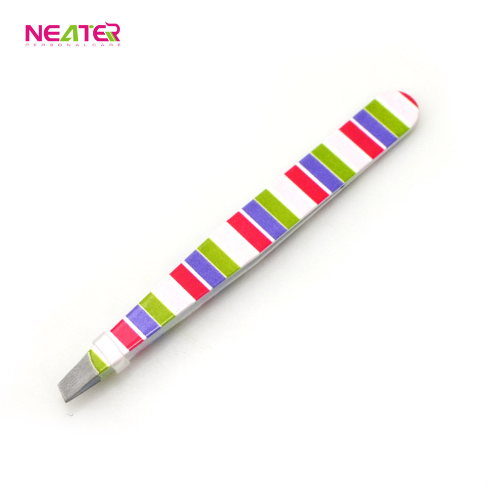 Best selling new arrival colorful cute eyebrow tweezers wholesale