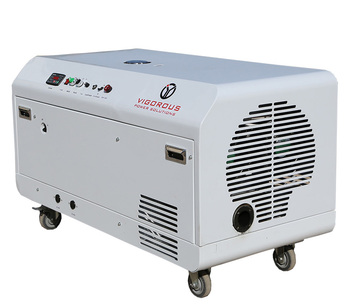 Vigorous LT8000S,8Kw 3 Phase Quiet Dual Fuel (Gasoline and Gas) Power Generator