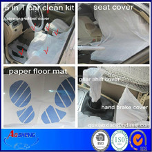 Disposable Clean Set 5 in 1 car services center