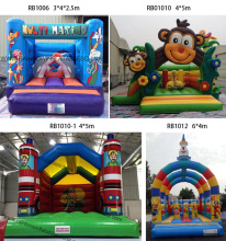 Cheap Bouncers Inflatable Christmas Jumping Castle For Sale