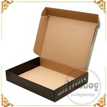 New design custom ptint kraft paper wine boxes 4 pack bottles carriers with handle
