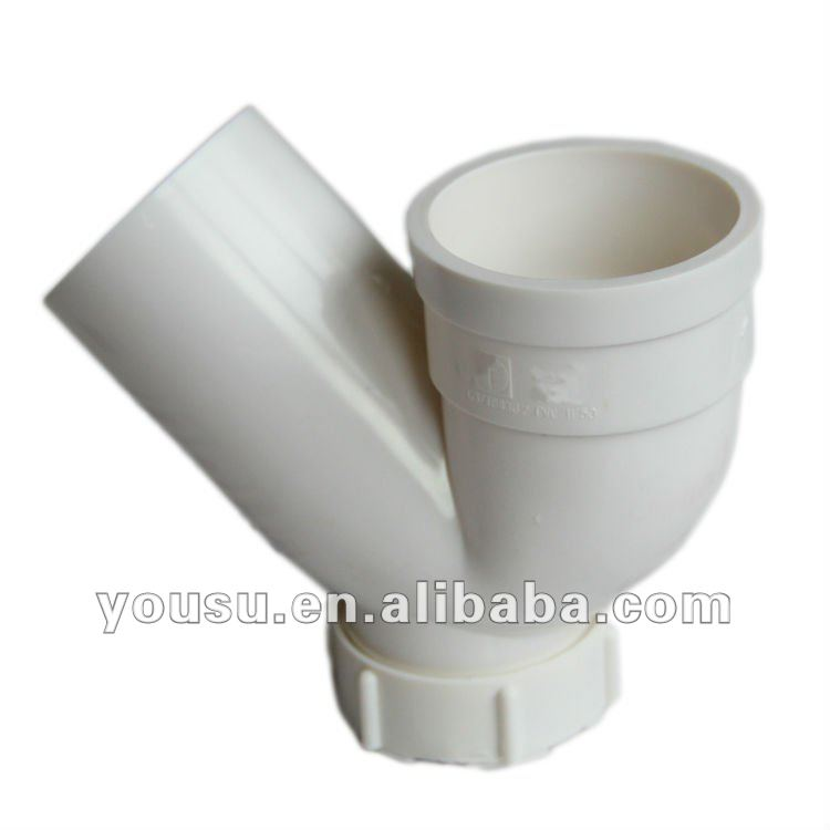 Drainage Fittings: Trap with cleanout