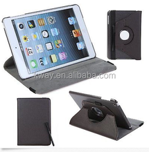 360 Rotation PU Leather case for Apple iPad Mini 2 3 Smart cover flip cases with stand function for iPad Mini with Retina
