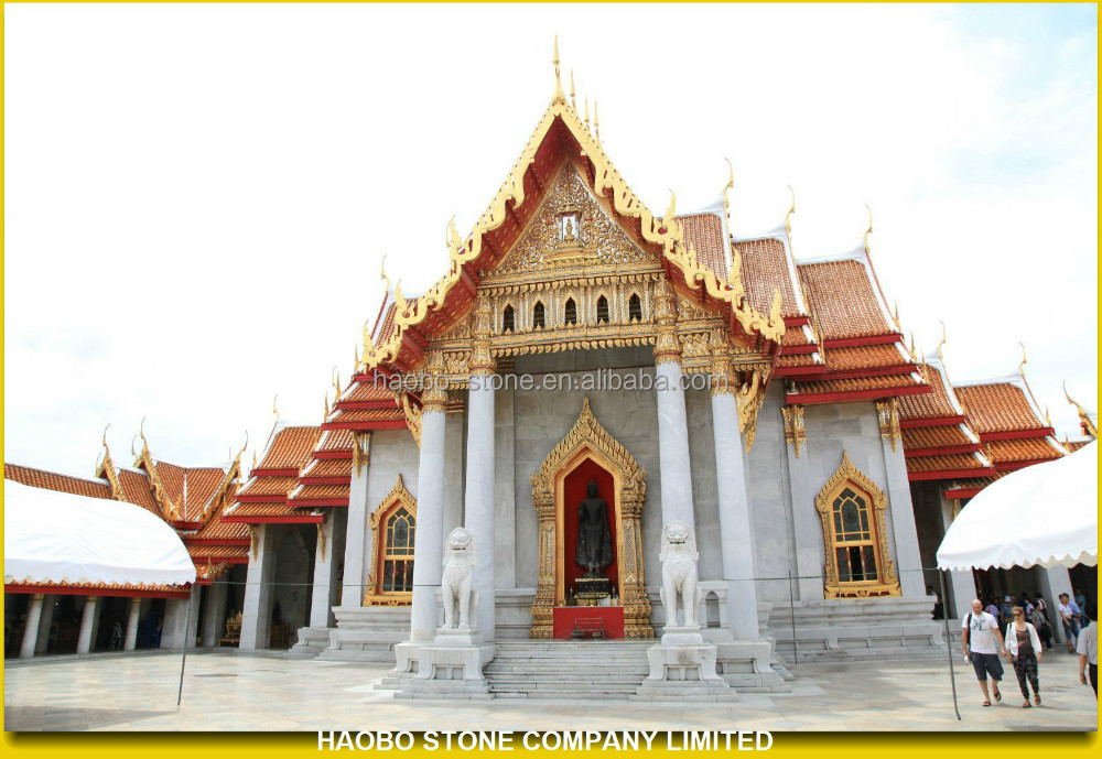 White Marble Temple Designs For Home