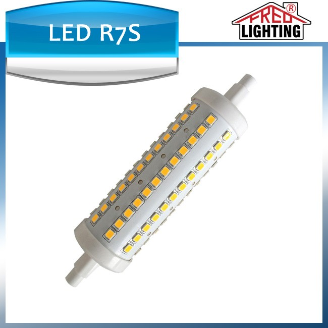 Latest design products 118mm 1000lm 10watt dimmable R7S led light bulb