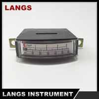 020 black plastic square plastic table pressure gauge