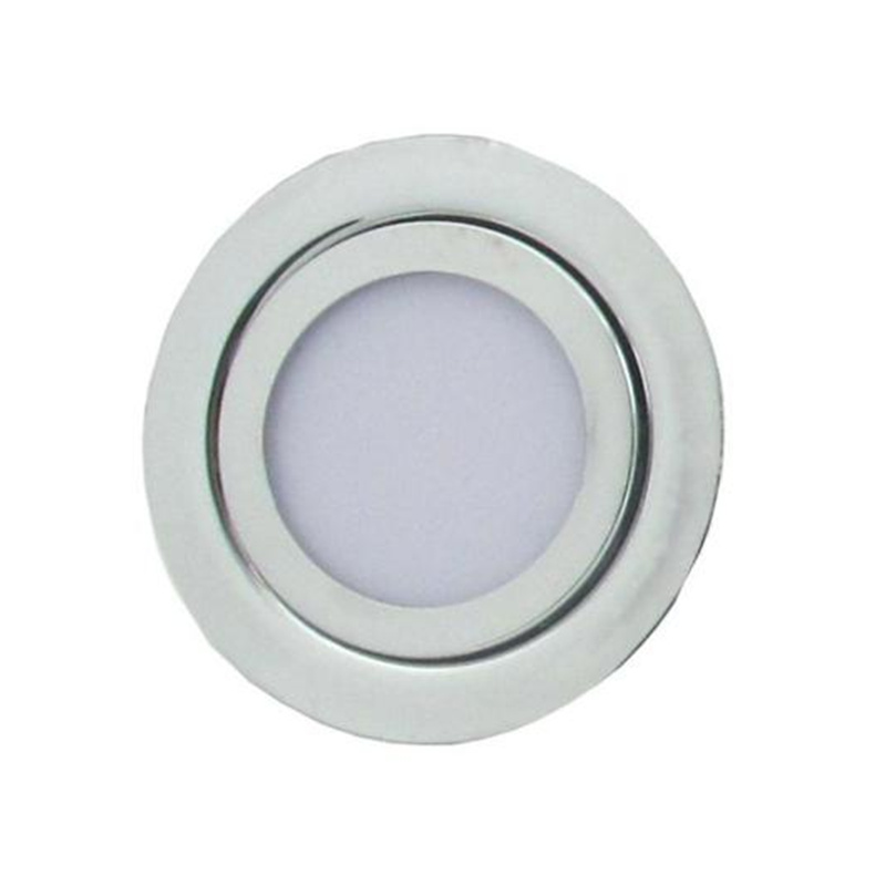 2W Recessed Milky Cover Led Under Cabinet Light, Kitchen Led Lamp, Led Cabinet Light