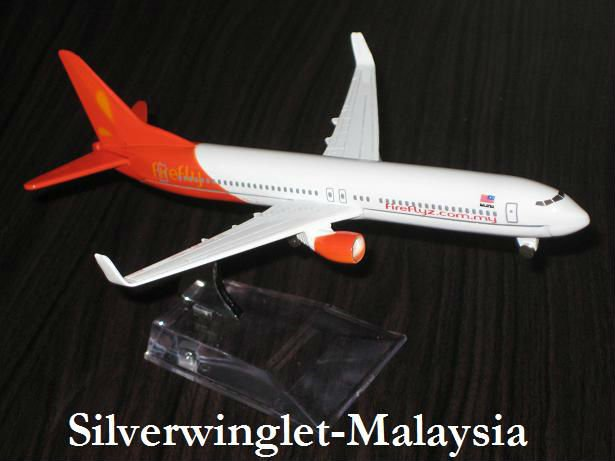 Fire Fly Malaysia Boeing B737-800 Diecast Aircraft Scale Model