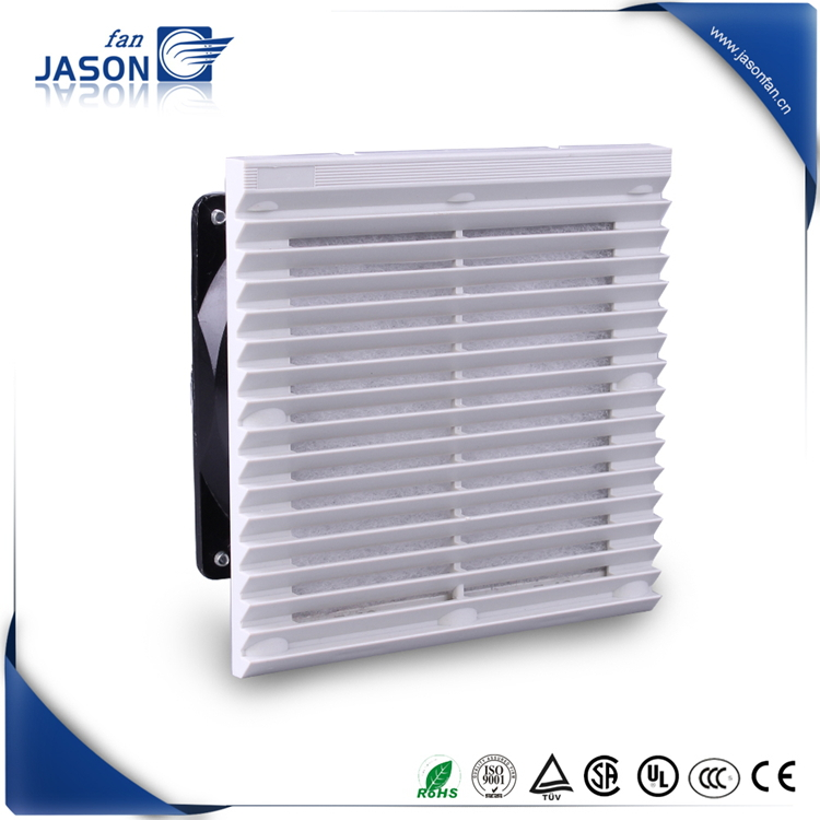 Cabinet Axial Fan Filter /150 X 150mm RAL 7035 & RAL 7032 Filter Fan /IP54 Grill with filter mat