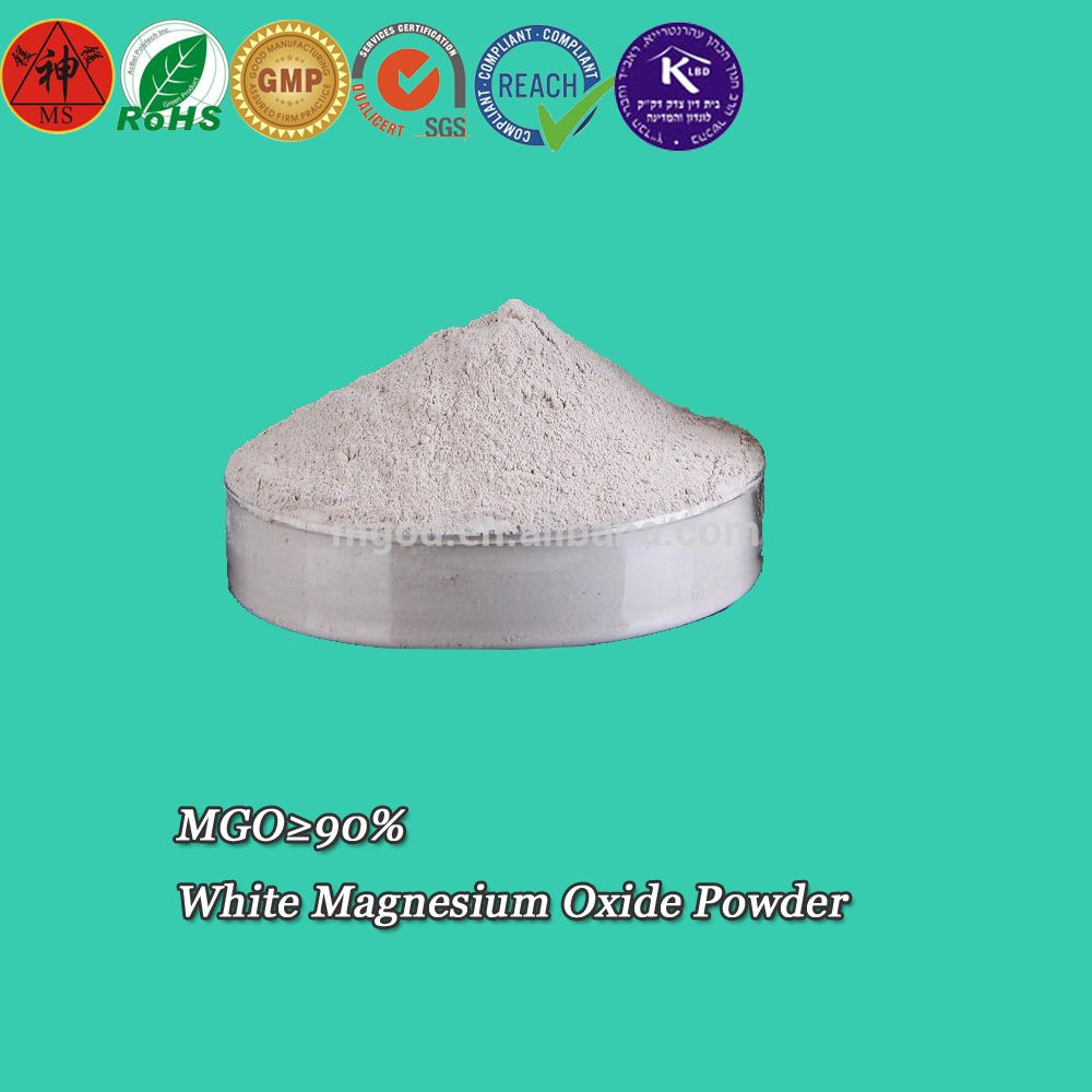 Famous Supplier of Magnesium Oxide Powder min 90% for Sale