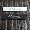 Custom Brand Name Embroidery Woven Clothing Label Tag