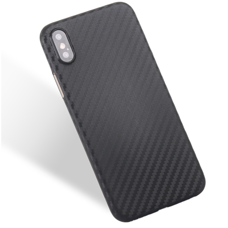 best selling products 2017 in usa custom For iPhone X Carbon Fibre Texture PP Protective Back Cover Case