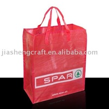 PP Woven 6 bottle non-woven wine tote bag