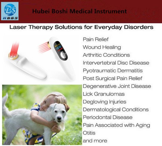 808nm low level laser physiotherapy treatment neck pain/back pain/knee pain relief device
