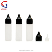 wholesale custom 10ml 15ml 20ml 30ml 50ml 60ml PE and PET unicorn e liquid bottle for e cigarette liquid