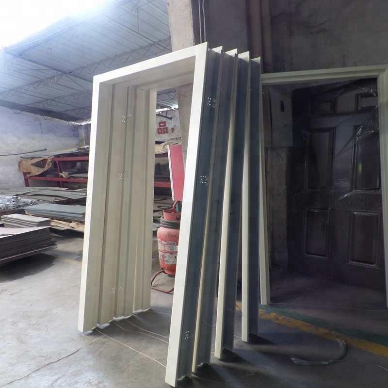 Metal Door Frame Powder Coat Steel Frame