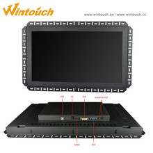 15 Inch Open Frame Resistive IR saw Capacitive Touch Screen Lcd Monitor With VGA USB For Android Windows Linux System