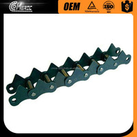 C TYPE STEEL AGRICULTURAL ROLLER CHAINS WITH ATTACHMENTS
