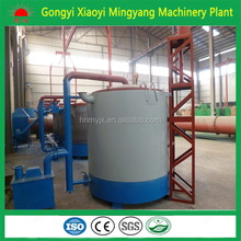 wood sawdust charcoal briquette machine/palm tree branch carbonization stove