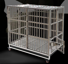 2017 products china manufacturer cheap aluminum dog crate dog cage trolley