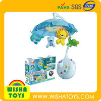 Fisher Price same style Baby mobiles with soft plush animals and lighted flashing Projector