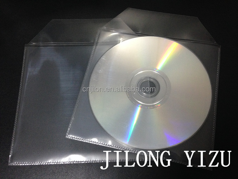 JILONG YIZU Clear Plastic PP+Non-woven CD DVD Cover