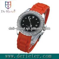 2013 Wholesale high-grade quantum watch Alloy shell Silicone Strap Quartz watch
