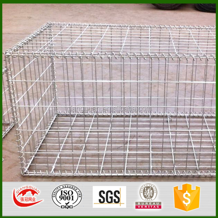 Welded gabion wire mesh , wire 3mm , mesh 50*50mm