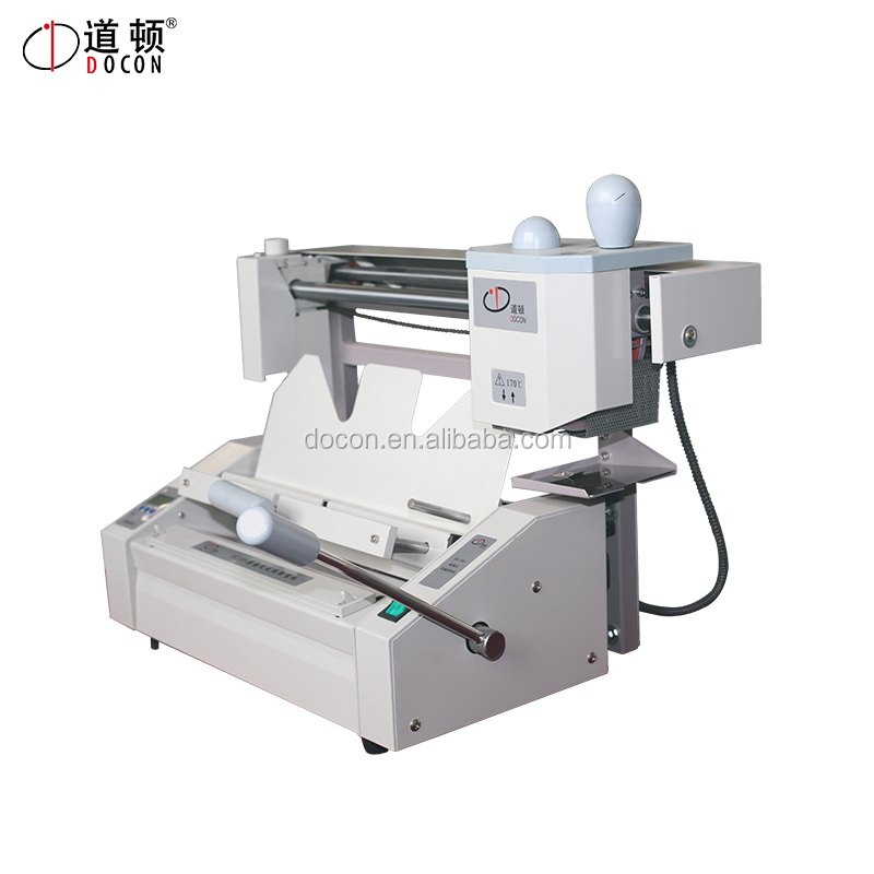 A4 perfect binder DC-30+ desktop perfect binding machine with LCD/hot glue binding machine/glue book binder