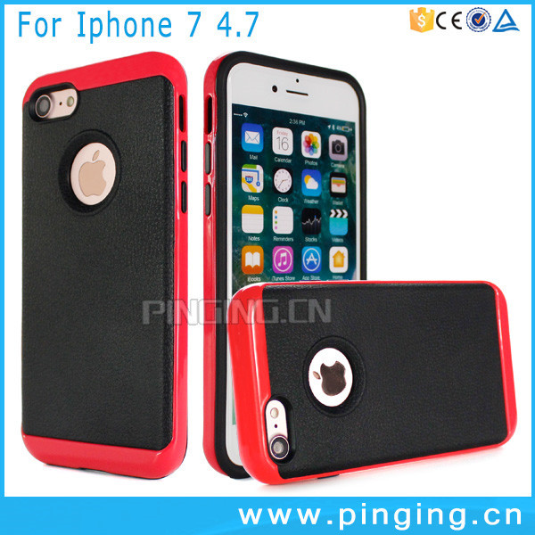 China Suppliers Mobile Accessories For iPhone 7, Colorful Bumper Phone Cover Case For iPhone 7