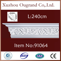 European style wall ceiling decoration cornice for hall decor in China
