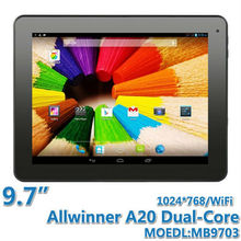 9.7 inch Boxchip A20 Dual-Core Tablet PC