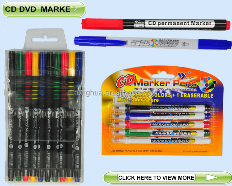 2014 multi-colored black skin textile fabric marker
