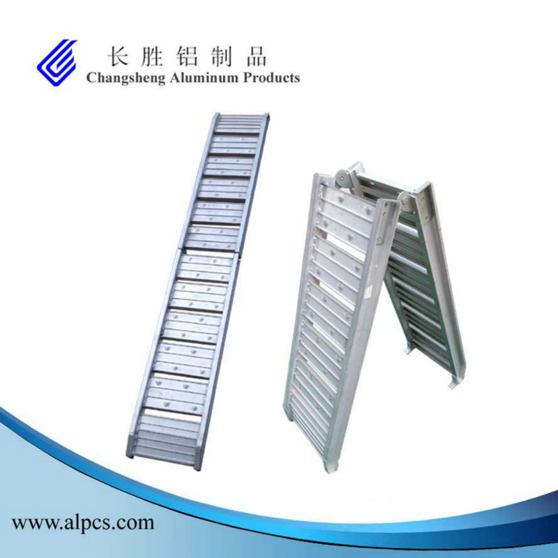 Aluminum Foldable 200KG/PCS Capacity Aluminum Loading Ramps