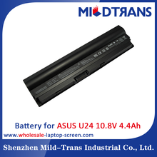 10.8V 4400mAh Laptop rechargeable battery for Asus U24 series X24E P24E PRO24E,for asus laptop battery msds A31-U24 A32-U24