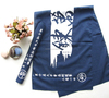 cotton absorbing water door curtain traditional Japanese tenugui custom logo