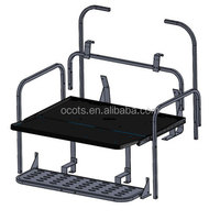 TXT Powder Coated Golf Cart Rear Seat Frame for Sale