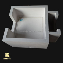 High Silica material aluminum industry usage ceramic filter box for Aluminum molten filtration
