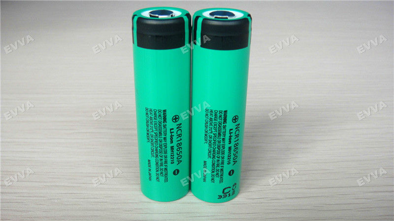 Rechargeable fresh 3.6V 18650 3100mAh li-ion battery cell 18650 battery lithium 3100mAh ncr18650a