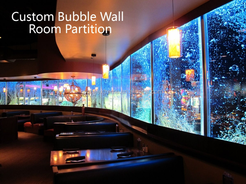 Fantastic Customized LED water bubble wall/panel wall divider