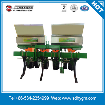 Tractor driving corn planter 4 row maize seeder made in China
